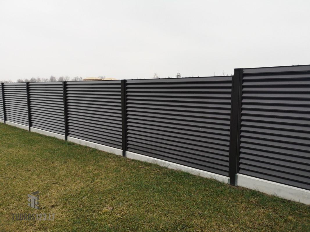Žaliuzinė tvora 043