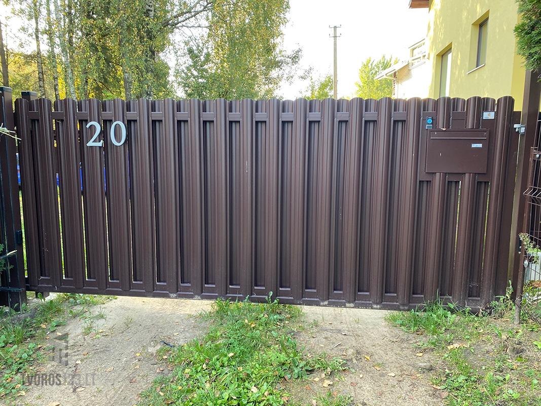 Klasikiniai stumdomi vartai 035